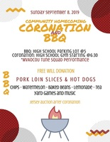 High School Coronation and BBQ