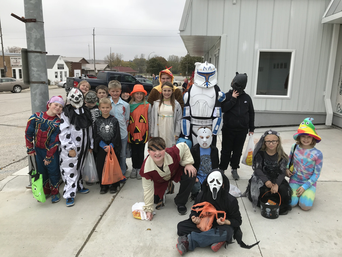 Our 4th grade Monsters!  Happy Halloween!