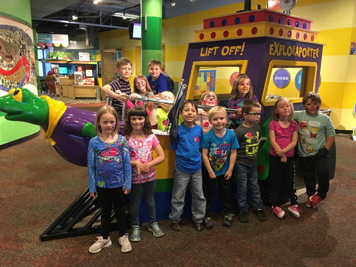 Fun day at the Children's Museum!