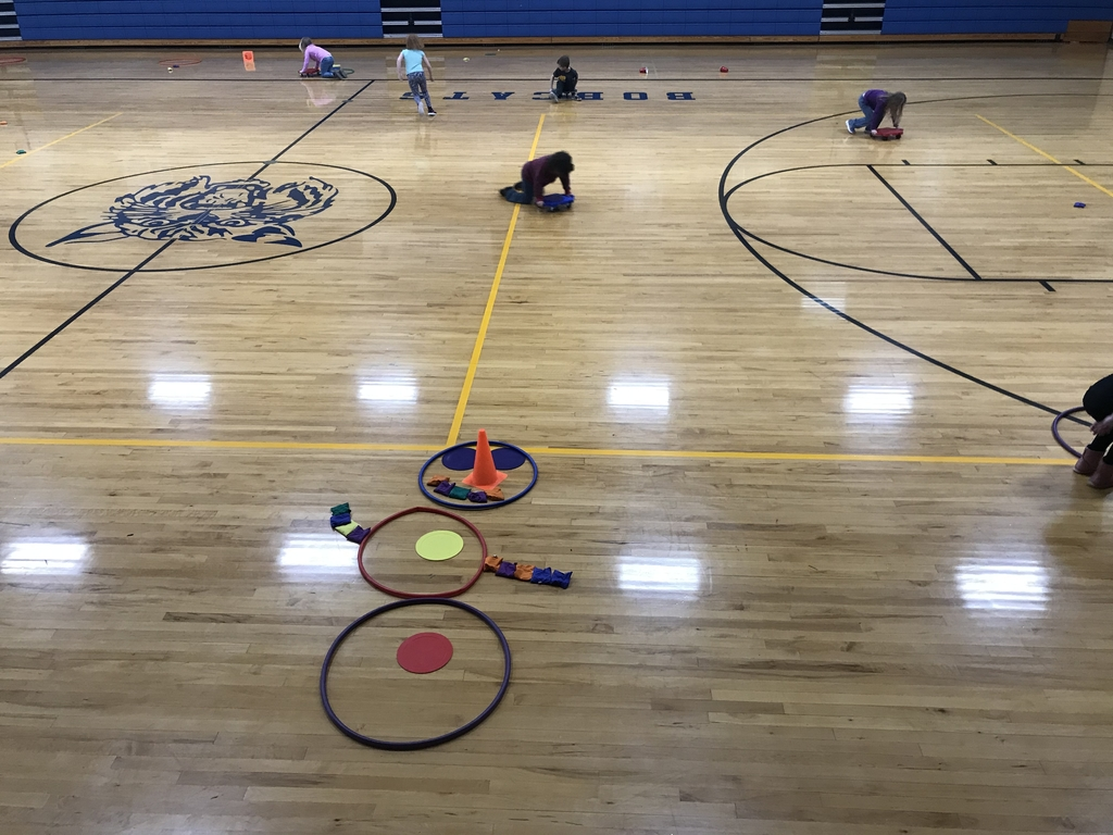 Scooter fitness - Building a snowman in PE